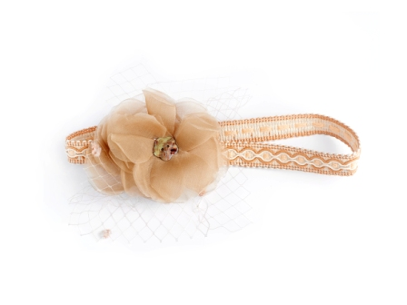 headband fleur